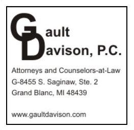 Gault Davison PC Attorneys Grand Blanc MI