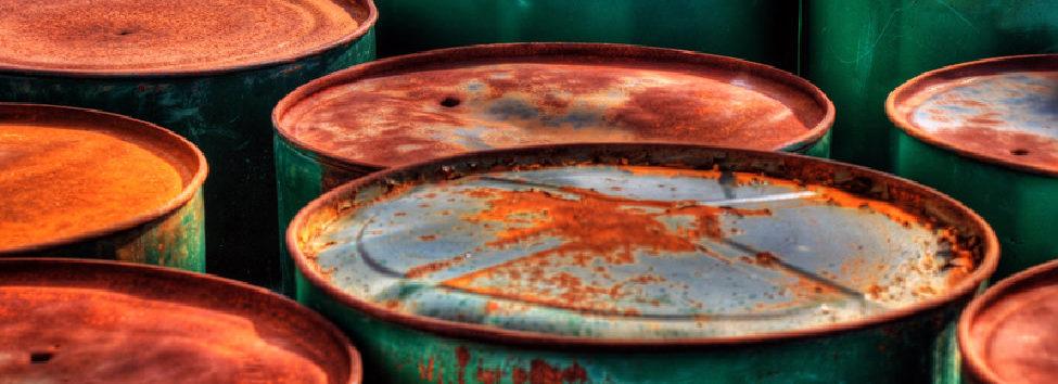 Rusting Barrels